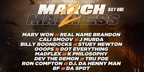 "MARCH MADNESS 2 "" RIOT MADNESS WEEKEND"" tickets"