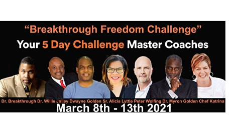 Join the 5 Day Breakthrough Freedom Challenge! tickets
