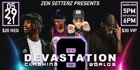 "DEVASTATION 8 ""CLASHING WORLDS"" tickets"