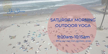 Saturday Morning Outdoor Yoga tickets