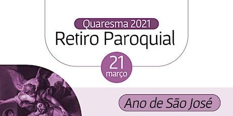 RETIRO  QUARESMAL 2021 ingressos