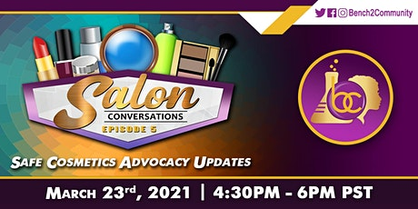 Salon Conversations Episode 5 with Tonya Fairley and Janet Nudelman tickets