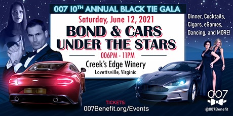 10th Annual 007 Black Tie: Bond &  Cars Under the Stars tickets