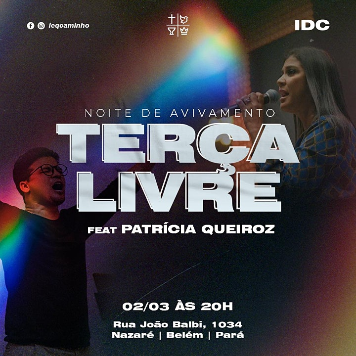 Imagem do evento Terça Livre com Patrícia Queiroz