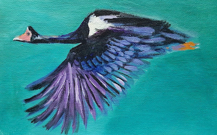 Pop Up Paint Party with NT Flavour - Flying Magpie Goose image