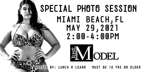 Just Model: Special Photo Session - Miami Beach tickets