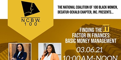 The Economic Empowerment Committee of the NCBW Decatur-DeKalb Chapter, Inc. tickets