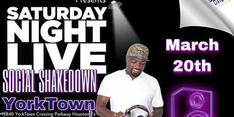 SATURDAY NIGHT LIVE HOST BY DJ POPPA tickets