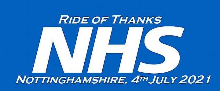 Ride of Thanks,NHS,Nottinghamshire. image