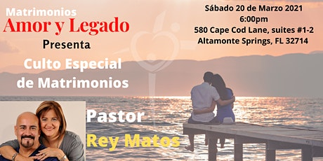 Culto Especial de Matrimonios tickets