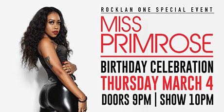 Miss Primrose Birthday Celebration tickets