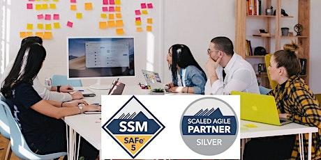 SAFe® Scrum Master  -July 12-13- Central- (SSM® 5.0 Certification) biglietti