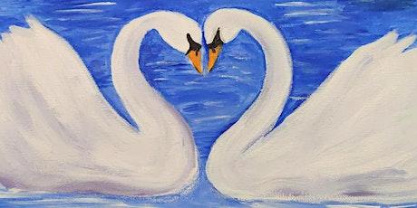 Acrylic Swans @ Buffalo RiverWorks Paint Night tickets