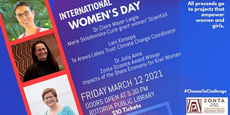 International Women's Day Rotorua tickets