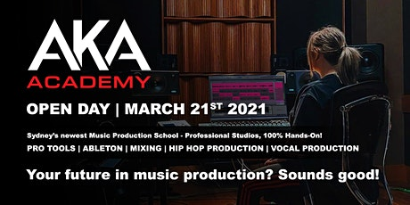 AKA Academy - Open Day, March 2021 tickets