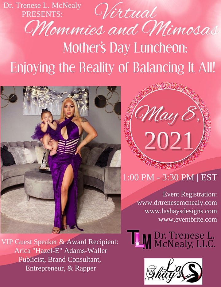 Virtual 2021 Mommies and Mimosas Mother's Day Luncheon image