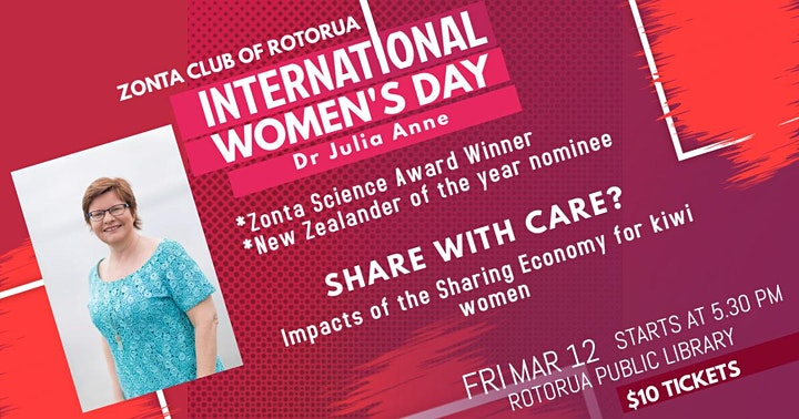 International Women's Day Rotorua image