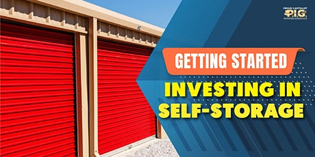 Getting Started Investing in Self-Storage tickets