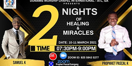 2 nights of Healing and Deliverance tickets