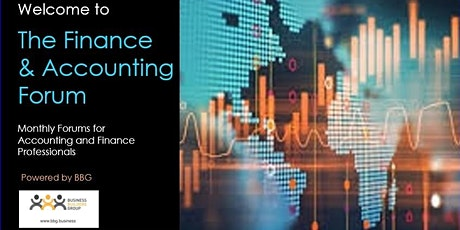 FINANCE & ACCOUNTING FORUM powered by BBG (Business Builders Group) tickets
