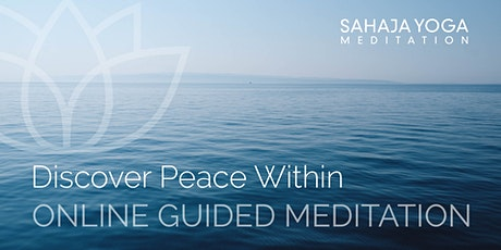 Discover Peace Within - Thursday Meditation tickets
