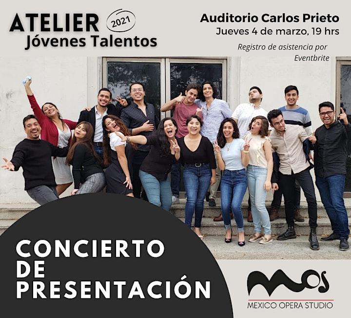 """Imagen de Concierto de presentación """"Atelier Jóvenes Talento"""