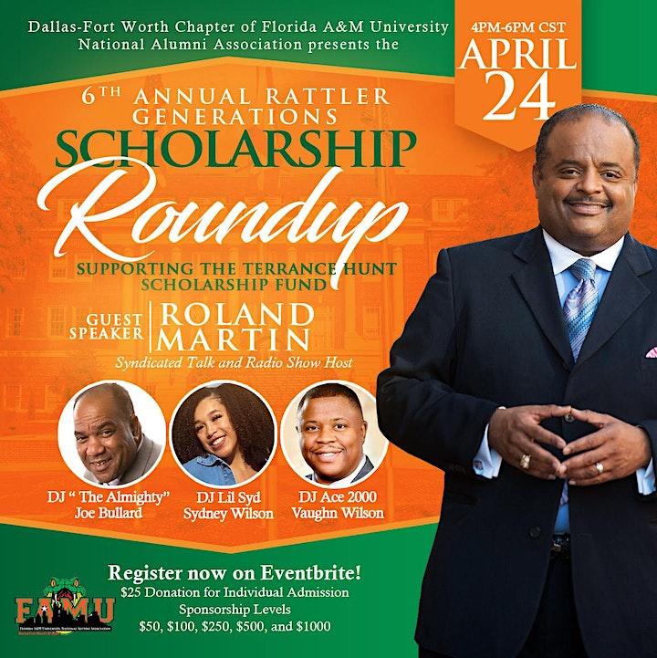 FAMU DFW 6th Annual Rattler Generations Scholarship Roundup image