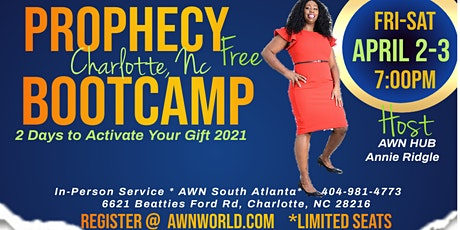 AWN Prophetic Training Charlotte tickets