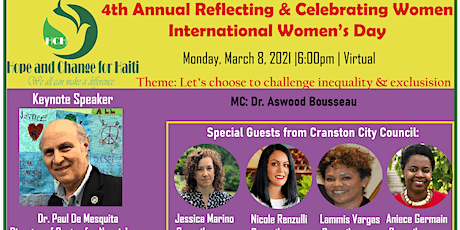 4th Annual Reflecting and Celebrating International Women Day tickets