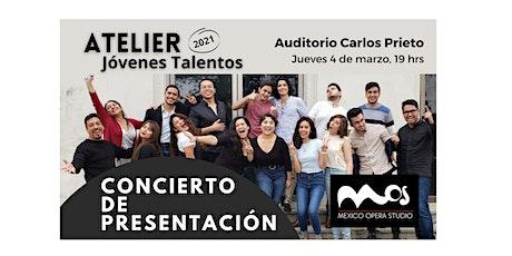 """Concierto de presentación """"Atelier Jóvenes Talento entradas"""