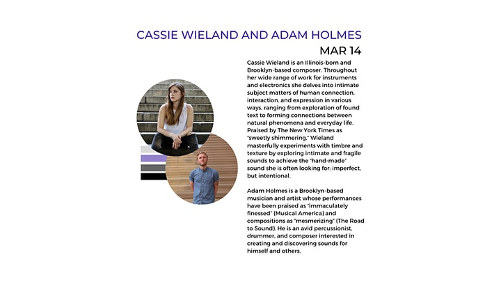 Cassie Wieland and Adam Holmes presented by Taking Imperfect Action image
