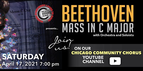 Beethoven Mass in C Major tickets