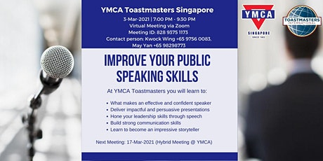 Improve your public speaking skills - Free Online Workshop tickets
