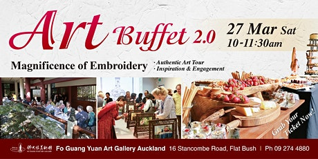 Art Buffet 2.0 - Magnificence of Embroidery tickets