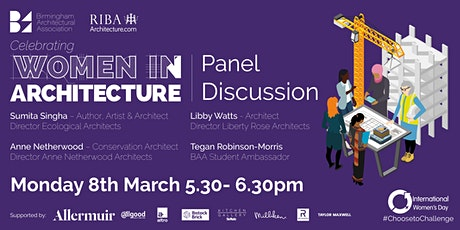 Panel Discussion Celebrating Women in Architecture tickets