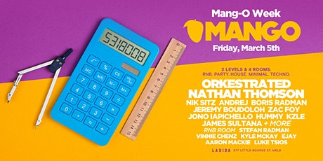 MANGO CLUB - MANG-O-WEEK tickets