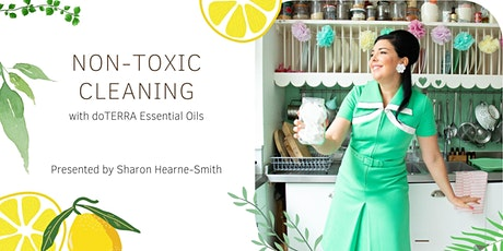 Non-Toxic Cleaning with doTERRA Essential Oils tickets