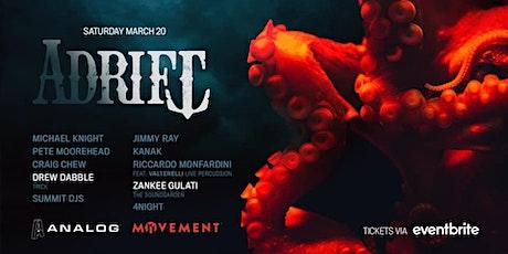 Analog & Movement Pres ADRIFT tickets