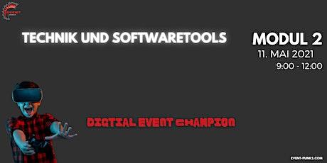 Ihr Weg zum digitalen Event Champion - Qualifizierungsprogramm MODUL 2/4 Tickets