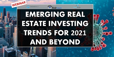 WEBINAR: Emerging Real Estate Investing Trends for 2021 and Beyond tickets