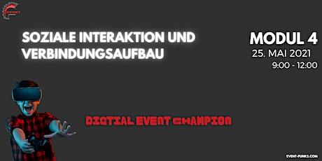 Ihr Weg zum digitalen Event Champion - Qualifizierungsprogramm MODUL 4/4 Tickets