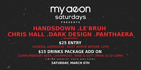 My Aeon Saturdays ft. HANDSDOWN tickets