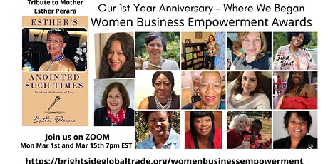 Women Business Empowerment Month Networking Event tickets