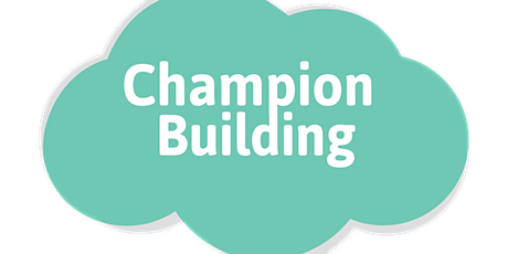 Champion Building Masterclass tickets