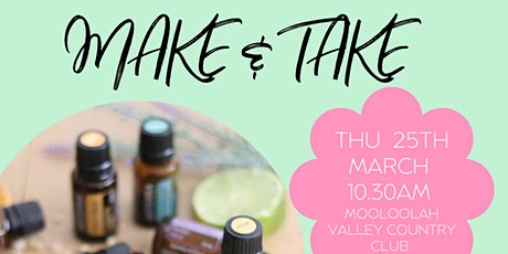 Make & Take  : Essential oils workshop tickets