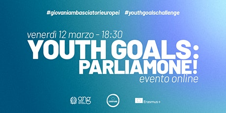 Youth Goals: parliamone! tickets