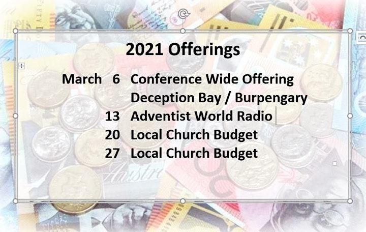 EMP ADVENTIST CHURCH - SABBATH  PROGRAM image
