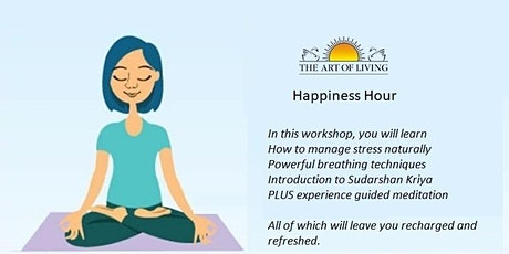 Happiness Hour tickets