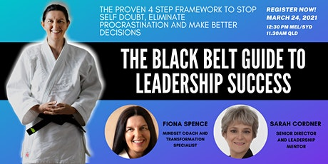 The Black Belt Guide to Leadership Success WEBINAR tickets