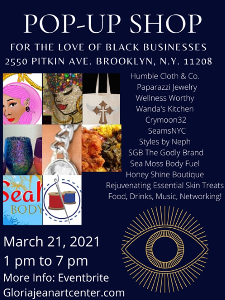 For The LOVE of BLACK Business Pop up shop! image